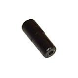 Ändhylsa till wirehölje 4mm., i svart plast till vxl-hölje.