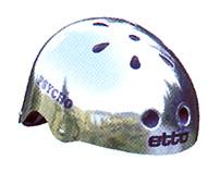 Psycho Chrome 52-60cm, Hjälm för BMX/skate/etc