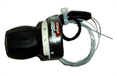 SRAM MR203-3 x 6 Växlar, Gripshift, Vänster - Höger