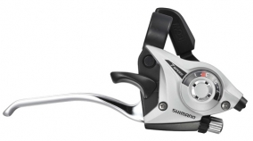 Shimano ST-EF51 Silver, 7 vxl, komplett sats