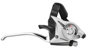 Shimano ST-EF51 Silver, 8 vxl, komplett sats