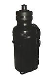 Dricksflaska 0.5 l svart, med hållare